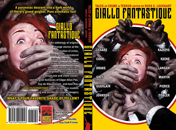 GIALLO FANTASTIQUE (paperback and ebook covers) Word Horde Press