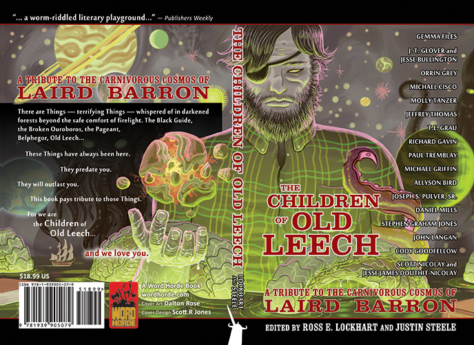 THE CHILDREN of OLD LEECH (paperback and ebook covers) Word Horde Press
