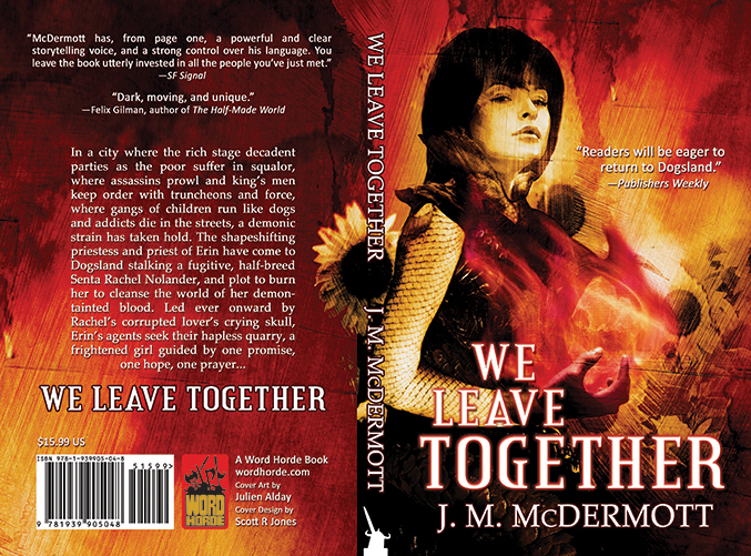 WE LEAVE TOGETHER (paperback and ebook covers) Word Horde Press